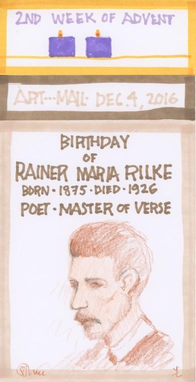 Rainer Maria Rilke 2016