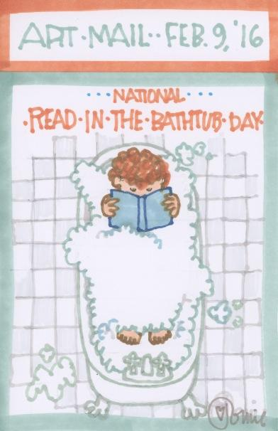 Read in the Bathtub 2016