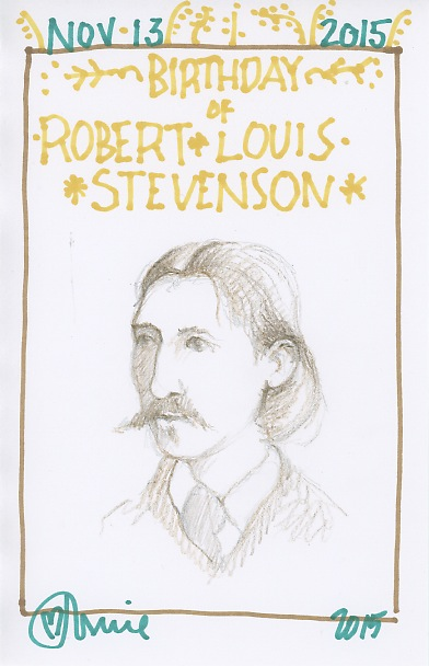 Robert Louis Stevenson 2015