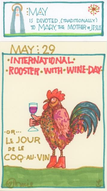 Rooster with Wine 2017