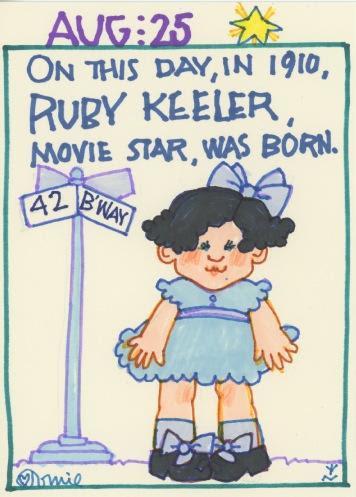 Ruby Keeler 2017