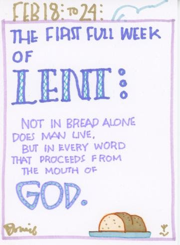 Lent First Full Week 2018