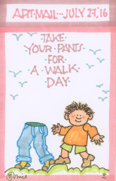 Take Your Pants for a Walk 2016