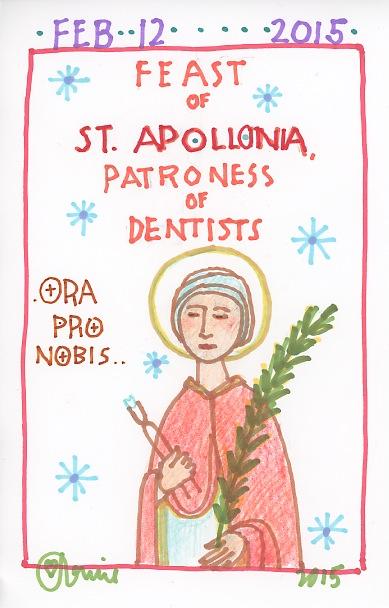 St Apollonia 2015