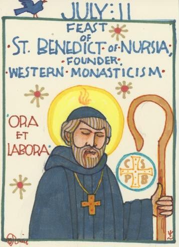 St Benedict Nursia 2017