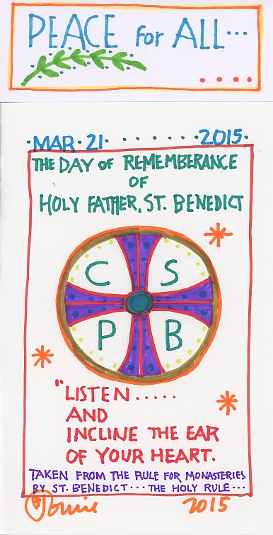 St Benedict Remembrance 2015