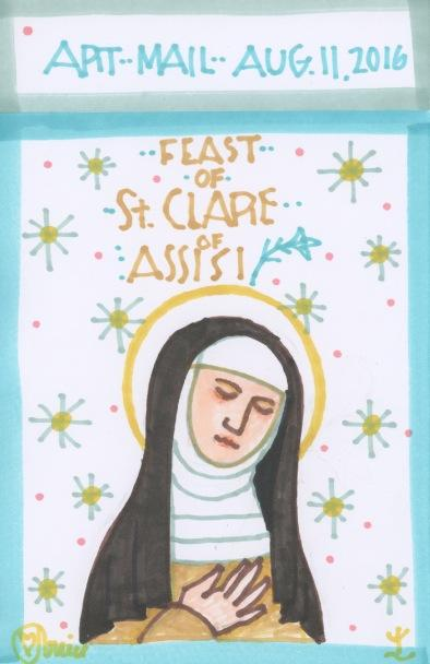 St Clare 2016