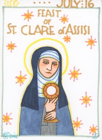 St Clare Birthday 2017