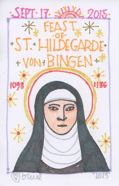 St Hildegard von Bingen 2015