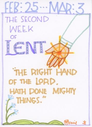 Lent Second Full Week 2018
