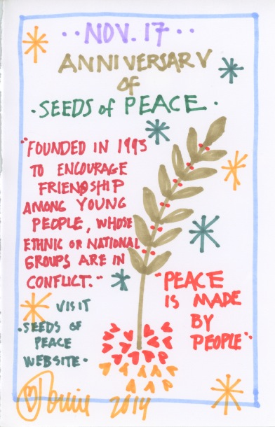 Seeds of Peace 2014