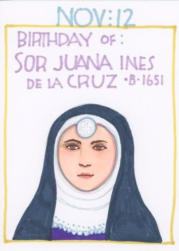 Sister (Sor) Juana Ines de la Cruz 2017