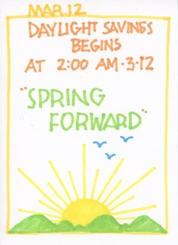 Spring Forward 2017