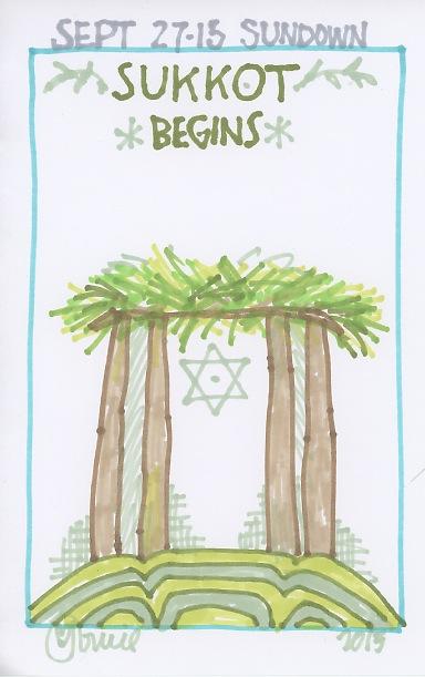 Sukkot Begins 2015