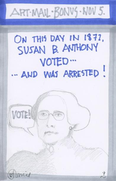 Susan B Anthony 2016