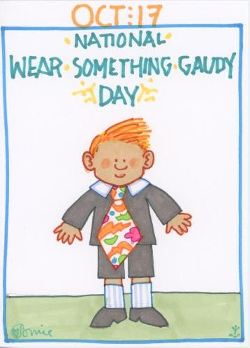 Wear Something Gaudy 2017