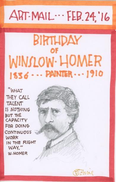 Winslow Homer 2016