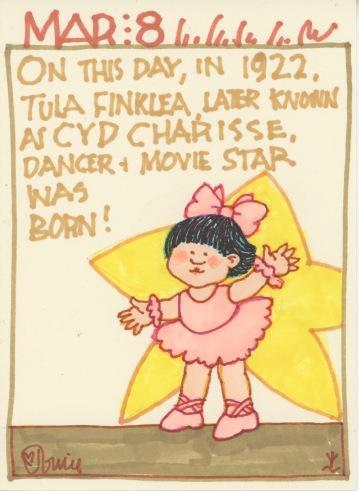 Cyd Charisse 2018