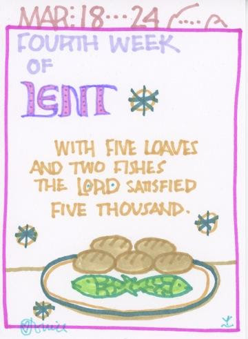 Lent Fifth Full Week 2018