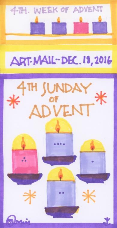 Advent 2016 Fourth Sunday