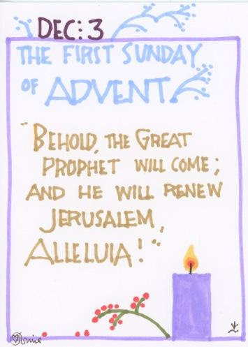 Advent 2017 First Sunday