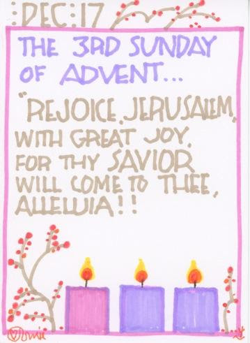 Advent 2017 Third Sunday