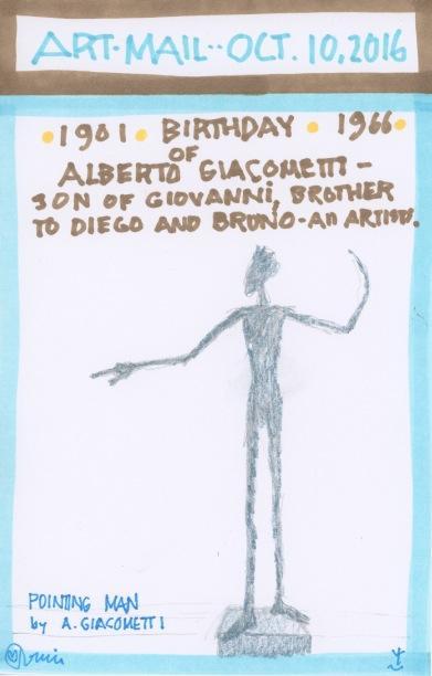 Alberto Giacometti 2016