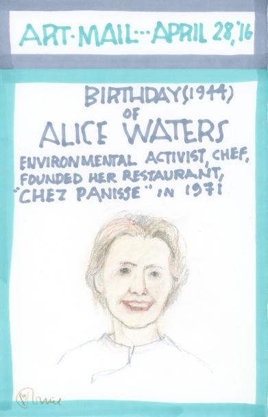 Alice Waters 2016