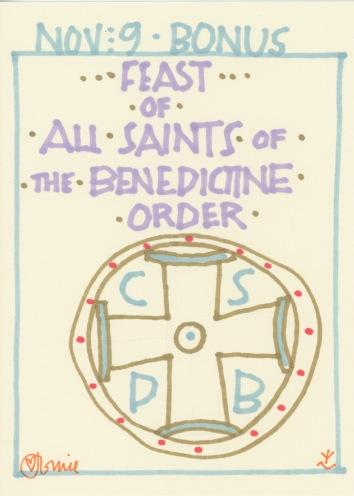 All Saints Benedictine Order 2017