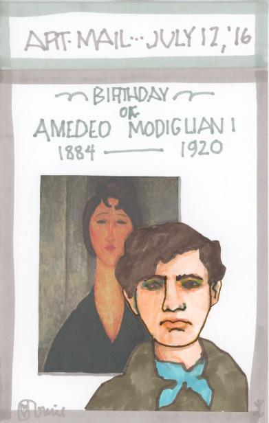 Amedeo Modigliani 2016