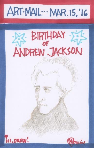 Andrew Jackson 2016