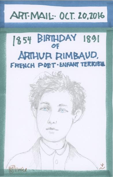Arthur Rimbaud 2016
