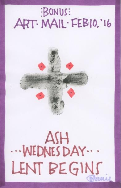 Ash Wednesday 2016