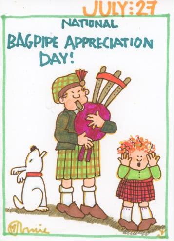 Bagpipe Appreciation 2017