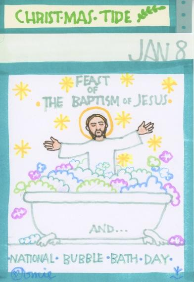 Baptism of Jesus 2017