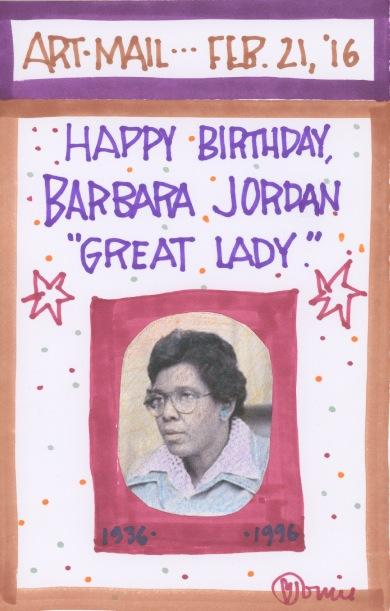 Barbara Jordan 2016