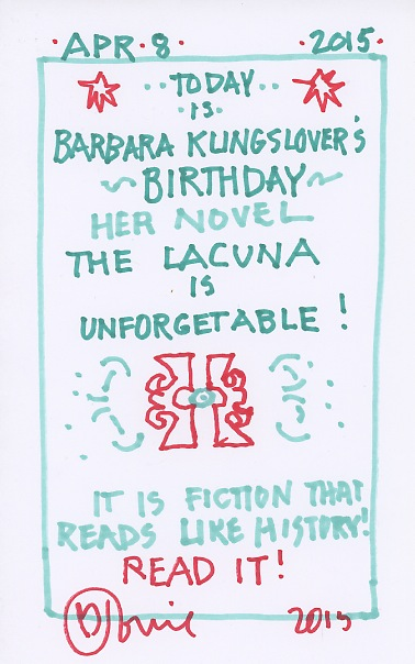 Barbara Kingsolver 2015