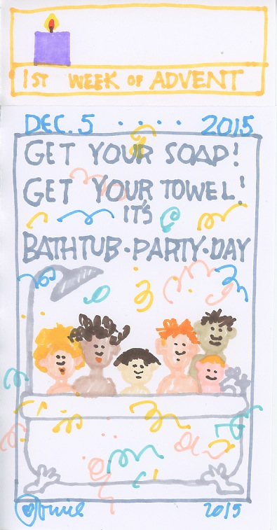Bathtub Party 2015