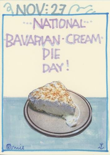 Bavarian Cream Pie 2017