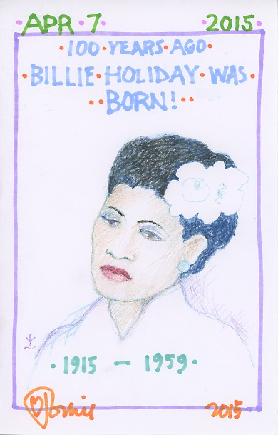 Billie Holiday 2015