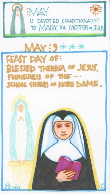 Blessed Theresa of Jesus 2017