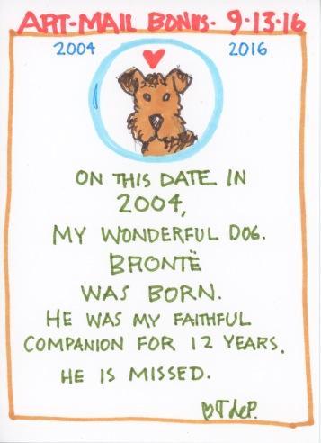 Bronte Birthday 2016