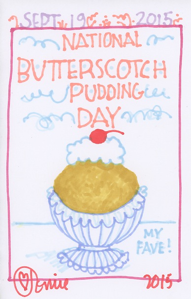 Butterscotch Pudding 2015
