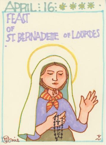 St Bernadette Soubirous 2018