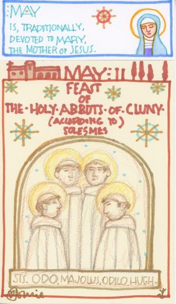 Abbots of Cluny 2018