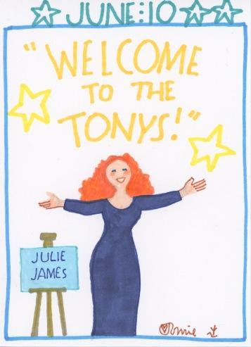 Tonys Julie James 2018