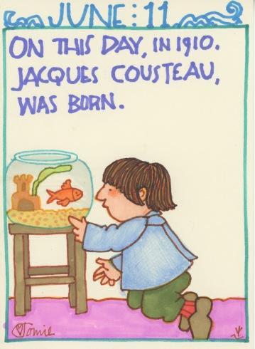 Jacques Cousteau 2018