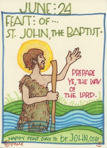 St John the Baptist 2018