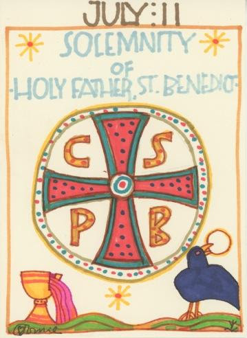 St Benedict Nursia 2018