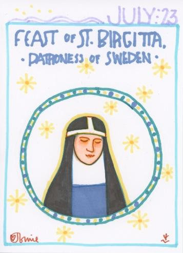 St Birgitta of Sweden 2018